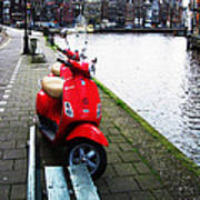 Amsterdam Landscape Poster
