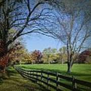 An Autumn Stroll Poster by Joe McCormack Jr