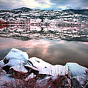 An Okanagan Winter Poster