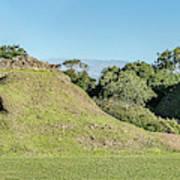 Ancient Mayan Ruins, Altun Ha, Belize Poster