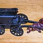 Antique Cast Iron Toy Poster