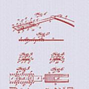 Antique Safety Razor Patent 1912 Poster