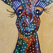 Girafe Art Poster