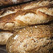 Artisan Bread Poster by Elena Elisseeva