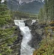 Athabasca Falls 2 Poster