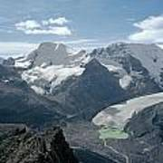 T-303504-athabasca Glacier In 1957 Poster