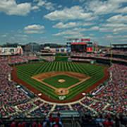 Atlanta Braves V. Washington Nationals Poster