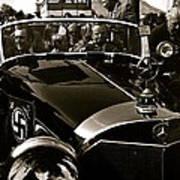Auction Sale Last Ride Adolf Hitler's Model 770-k 1941 Mercedes-benz Touring Car Scottsdale Az 1973 Poster