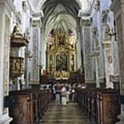 Austria. Krems. G�ttweig Abbey. Church Poster