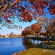 Autumn At Argyle Park Poster