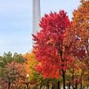 Upward - Autumn High Poster