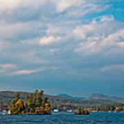 Autumn On Lake George Poster