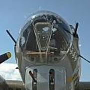 B-17 Nose Poster