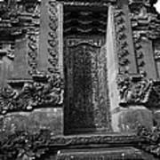 Balinese Hindu Temple Poster
