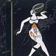Ballet Scene With Tamara Karsavina Poster