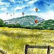 Balloon Race Poster