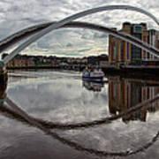 Baltic And Gateshead Millennium Bridge Poster