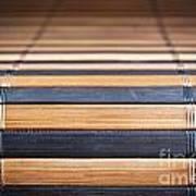 Bamboo Mat Texture Poster