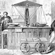 Bank Of England, 1872 Poster