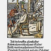 Barber-surgeon, 1568 Poster