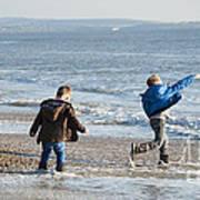 Barton On Sea Tyler And Harvey Poster