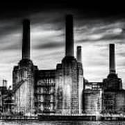 Battersea Power-station London Poster