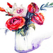 Beautiful Roses Flowers Poster