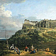 Bellotto's The Fortress Of Konigstein Poster