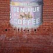 Ben Hur Coffee Poster