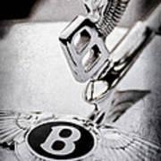 Bentley Hood Ornament - Emblem Poster