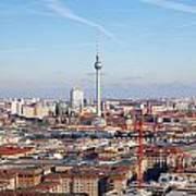 Berlin Cityscape Poster