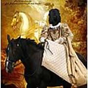 Black Russian Terrier Art Canvas Print Poster