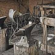 Black Smith Shop In Fort Edmonton Poster