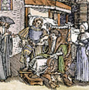 Bloodletting, 1540 Poster