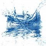 Blue Fresh Water  Poster