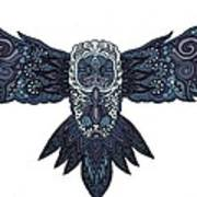 Blue Owl Poster