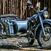 Bmw 500 Sidecar Poster