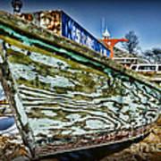 Boat Forever Dry Docked Poster