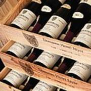 Bottles Of Vosne-romanee Premier Cru Cros Parantoux Poster by Anonymous