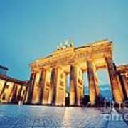 Brandenburg Gate Berlin Germany Poster