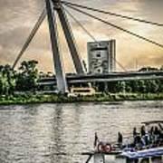 Bratislava Bridge Poster