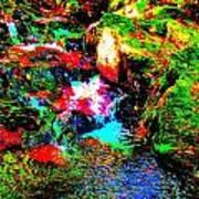 Brook Texture 13 Poster