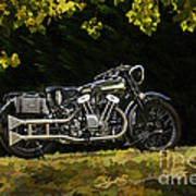 Brough Superior Ss 100 Poster