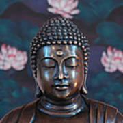 Buddha Statue Denver Poster
