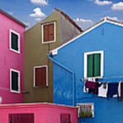 Burano 10 Poster by Giorgio Darrigo