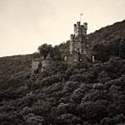 Burg Sooneck Am Rhine Poster