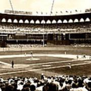 Busch Stadium - St Louis 1966 Poster