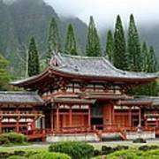 Byodo Temple Poster