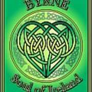 Byrne Soul Of Ireland Poster