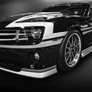 Camaro Stripes Poster
